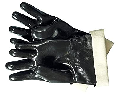 Artisan Griller Heat Resistant Insulated Waterproof-Oil Resistant Gloves For Smokers, Fryers & Grills Cooking & Turkey Fryers, BBQ, Pulling Barbecue Pork, Home Brew Tasks from Artisan Griller
