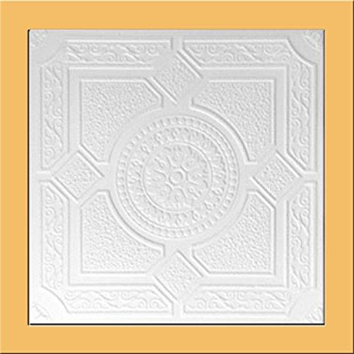 White Styrofoam Ceiling Package Tiles
