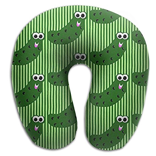 (Comfortable Travel Pillow, Master Neck Pillow, A Pickles Say Hey Memory Foam Pillow For Travel, Home, Neck)