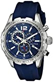 Nautica Men's NAD15513G NST 30 Analog Display Quartz Blue Watch