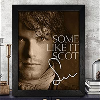 Sam Heughan Signed Autographed Photo 8X10 Reprint Rp Pp - Outlander