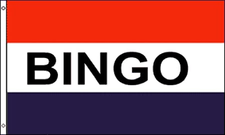 BINGO Flag 3x5 Polyester