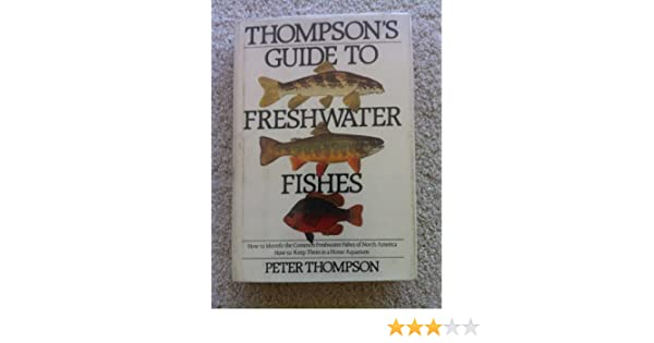 How to Keep Them in a Home Aquarium Thompsons Guide to Freshwater Fishes How to Identify the Common Freshwater Fishes of North America