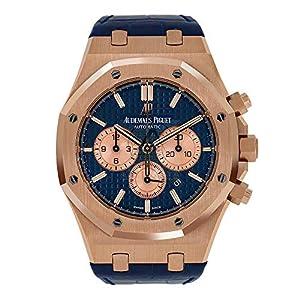 Best Epic Trends 51quLHdF4IL._SS300_ Audemars Piguet 41MM Royal Oak Chronograph Blue/Rose Gold Mens Watch 26331OR.OO.D315CR.01