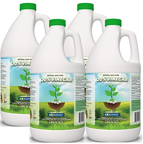 (Pure 20% Vinegar - Home&Garden (4 Gallon case))