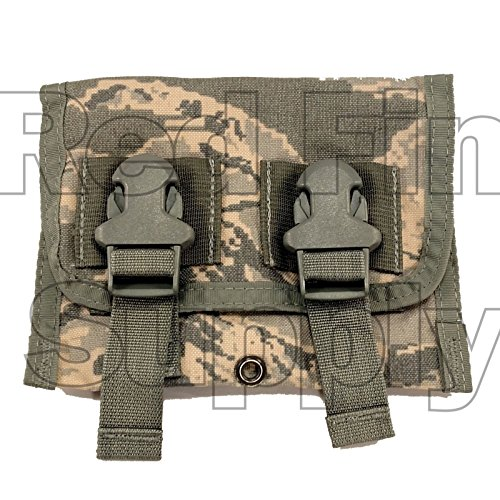 Triple 40mm Grenade Pouch DF-LCS M203 ABU Air Force Tiger MOLLE USGI Eagle Ind ()
