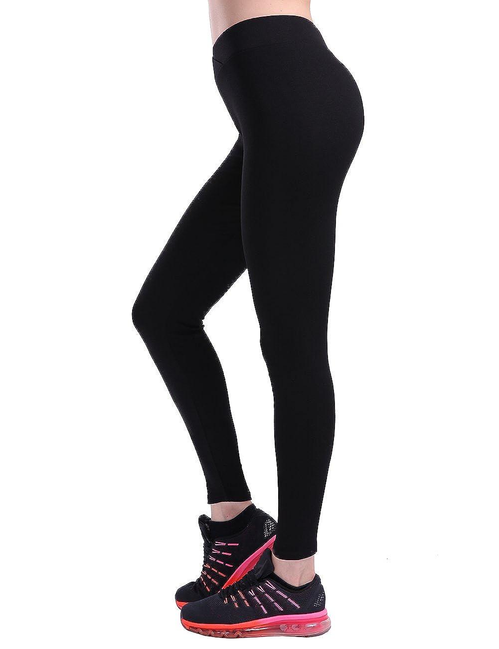 CHRLEISURE Scrunch Butt Leggings for Women Push Up High Waisted V Waist Casual Yoga Pants