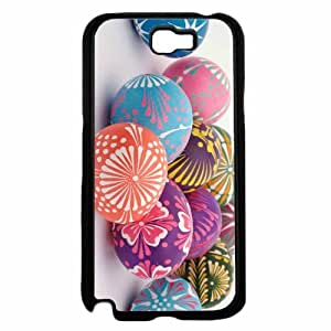 Colorful Easter Eggs TPU RUBBER SILICONE Phone Case Back Cover Samsung Galaxy Note II 2 N7100