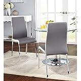 Amazon Com Rocking Chair Modern Style Sky Blue Finish