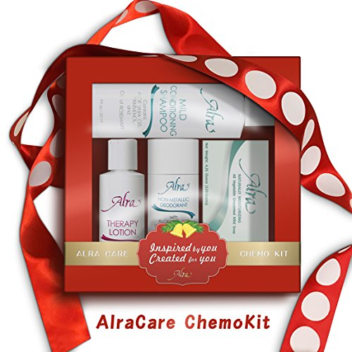 Deodorant Moisturizing Moisturizer (Alra Chemo Kit Therapy Skincare Bundle (4-Piece Set) Deep Moisturizing Lotion, Mild Soap, Conditioning Shampoo, Non-Metallic Deodorant | Natural, Soothing Wellness for Cancer Patients)