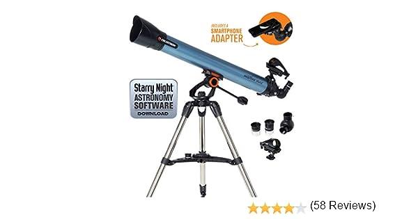 Celestron Inspire - Telescopio astronómico (80 mm de Apertura, 900 ...