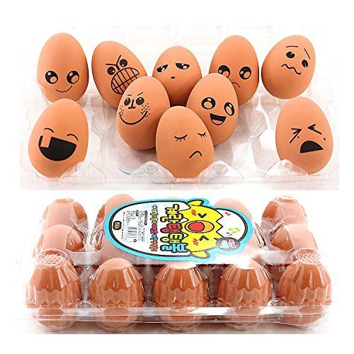 Rubber Bouncing Egg Bounce Egg Ball Toy : 1pc (Random)