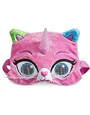 Rainbow Butterfly Unicorn Kitty Vision Mask, Multi Colered