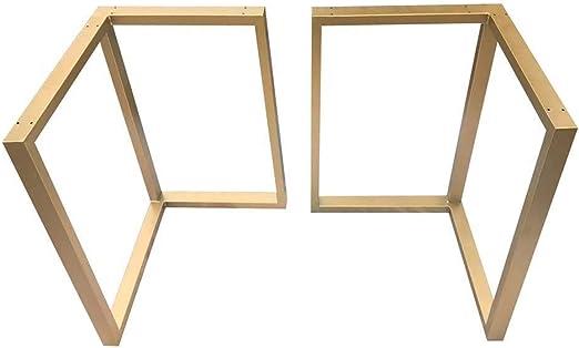 Soportes de patas de mesa dorados Soporte de hierro marco Pies de ...