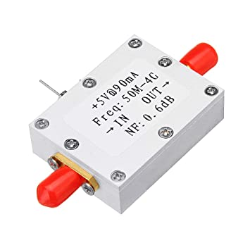 Ultra-Low Noise LNA 0.05-4G NF=0.6dB High Linearity RF Amplifier FM HF VHF//UHF