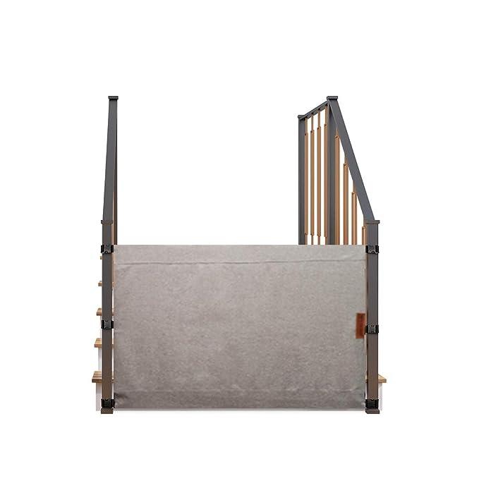 Safety Stairway Gate Toddler Door Stair Fix Baby Pet 80~90cm Big Wide Door Fence