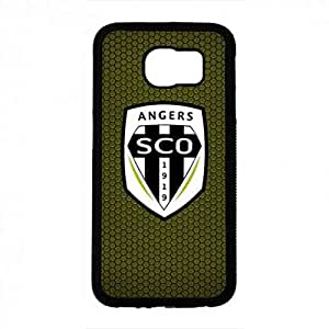 Custom Angers Sporting Club De L'Ouest funda For Samsung Galaxy S6 Back Cover Bvb03