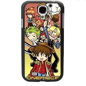 One Piece popular Anime Manga Cartoon Monkey D. Luffy Roronoa Zoro Sanji Comic Samsung Galaxy S4 SIV i9500 Soft Black or White case (Black)