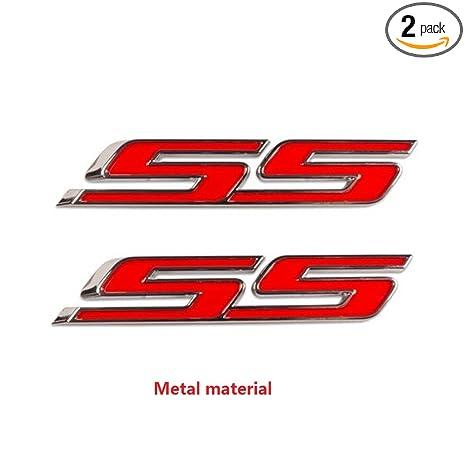 Amazon.com: Yoaoo-oem logotipo adhesivo cromado, 2 unidades ...