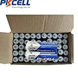PKCELL 1.5V AA Li-Fe FR6 Lithium Battery for High Drain Devices 60PC