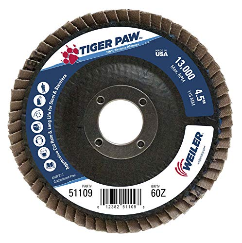 Weiler 51109 Tiger Paw High Performance Abrasive