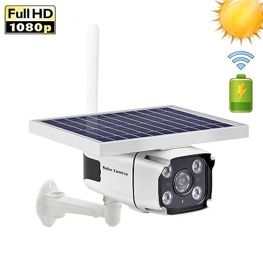AINGOL Cámara de Seguridad con energía Solar- Tarjeta SIM 4G ...
