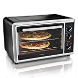 Countertop Electric Oven Hamilton Beach 31105HB Countertop Oven with Silver, Black