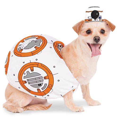 [Rubies Costume 580417_L Star Wars VII: The Force Awakens BB-8 Pet Costume, Large] (Bb 8 Dog Costume)