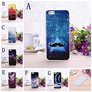 Universe Sky Pattern Plastic Hard Cover for iPhone 6