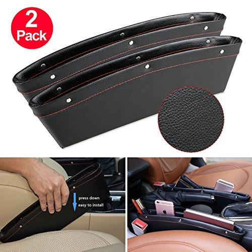 Car Seat Gap Filler Side Spacer Pocket Storage Bag / Box (Set of ()