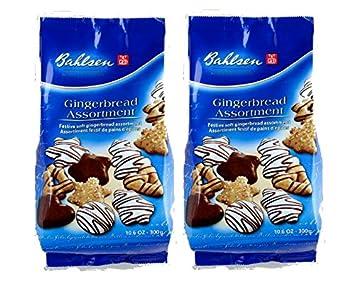 Bahlsen Holiday Lebkuchen Cookie Gingerbread Assortment 300g Pack Of 2 German Import