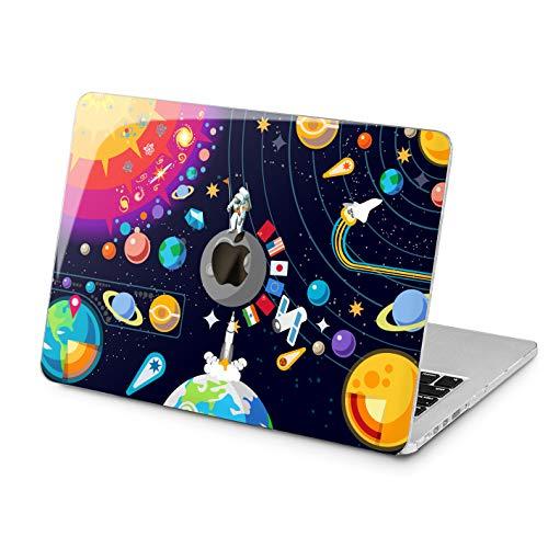 Lex Altern Space MacBook 2018 Air 13 inch Pro 15 Apple Mac Cute Hard Case 11 Solar System Retina 12 Planets Protective World Cover 2016 NASA 2017 Plastic Laptop Print -