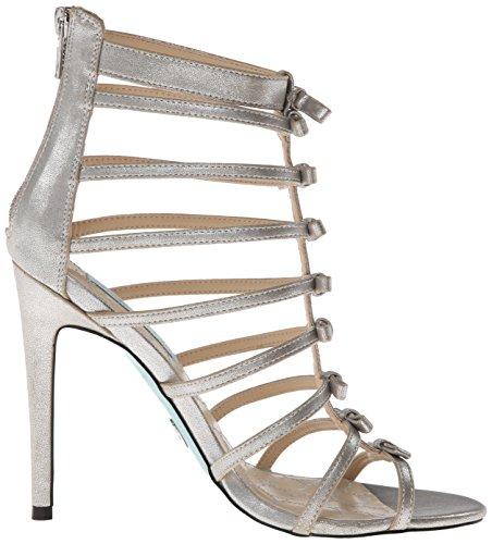 Betsey Johnson Tie Fibra sintética Sandalia Gladiador