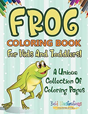Frog Coloring Pages For Kids - Coloring Home | 400x309