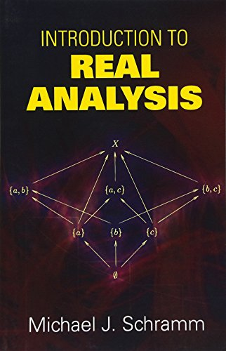 Introduction to Real Analysis (Dover Books on Mathematics) [Michael J. Schramm - Mathematics] (Tapa Blanda)
