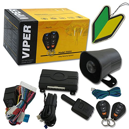 2013 Viper 1-way Car Alarm Security System With Keyless