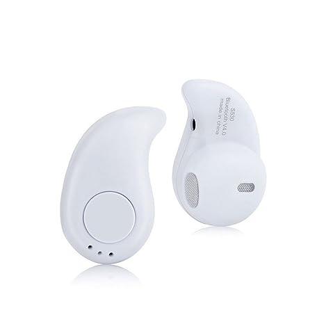 Zsjijia Auriculares inalámbricos Bluetooth, Mini S530 Auriculares Bluetooth manos libres para iPhone Samsung Galaxy y