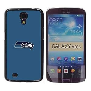 LOVE FOR Samsung Galaxy Mega 6.3 Seattle Seahawk Minimal Personalized Design Custom DIY Case Cover
