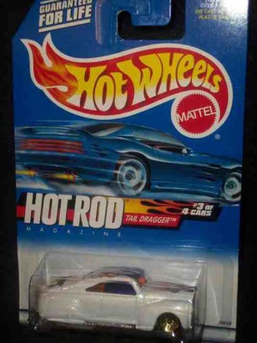 Hot Rod Magazine Series #3 Tail Dragger Painted Base #2000-7 Collectible Collector Car Mattel Hot Wheels 1:64 Scale ()