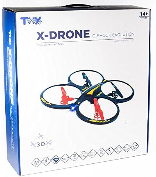 Toy Lab- X-Drone Evolution 2.0, Color Verde y Blanco (XD1410800 ...