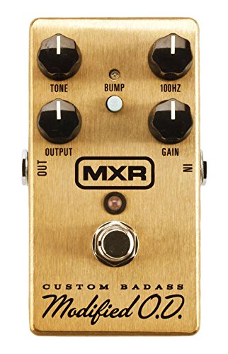 (MXR M77 SE Custom Badass Modified Overdrive SPECIAL EDITION Free US Shipping)