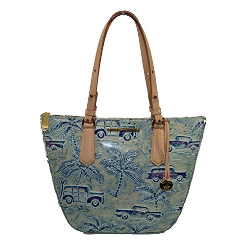 Small Cabana Bag Copa Cars Brahmin Shoulder Sky Blue Willa tqgR8wwfnd