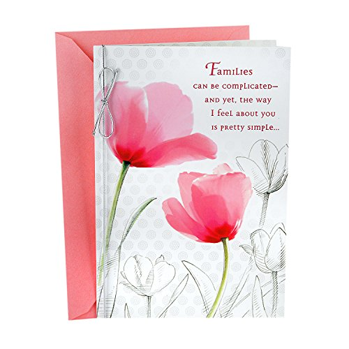 Hallmark Mother's Day Greeting Card (Appropriate for Stepmom)