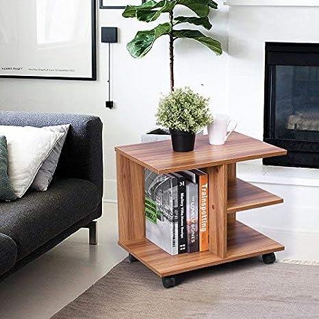 Innovareds - Mesita multifunción para TV con ruedas pivotantes y freno. Mesa con estanterías.: Amazon.es: Juguetes y juegos