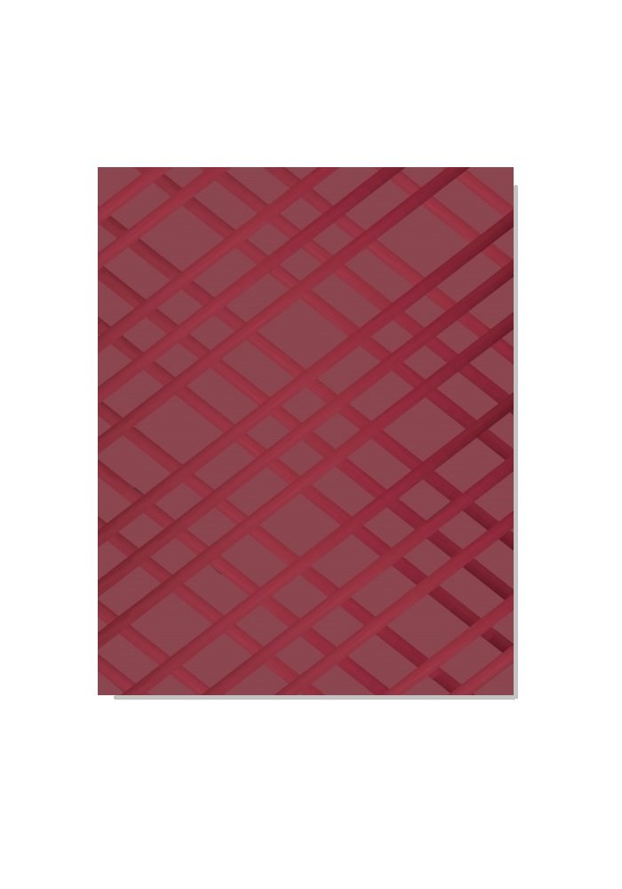 Frame-For-All Bulletin-Memo Board: Burgundy (Small (15'' x 20'')) by Frame-For-All