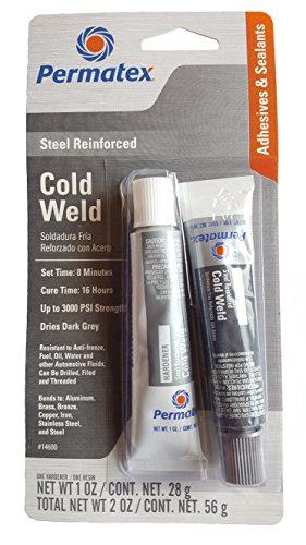 Permatex 14600 1 Oz Cold Weld Bonding Compound 2 Count