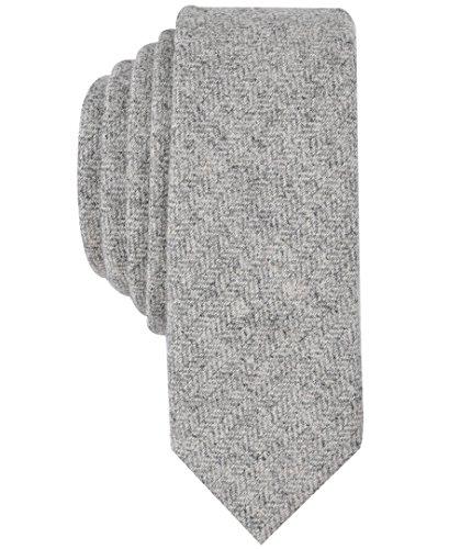 Original Penguin (PENH8) Men's Smith Solid Tie, grey, One -