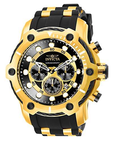 Invicta Bolt - Invicta Men's Bolt Quartz Watch with Stainless Steel Strap, Black, 26 (Model: 26751)