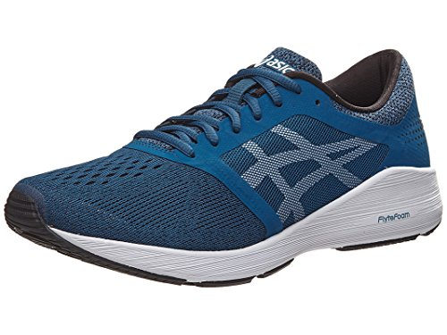 Asics Roadhawk FF Running Shoe - Men's Ink Blue/White/Bla...