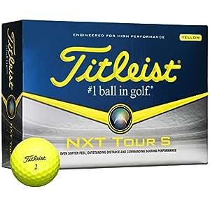Titleist Nxt Tour S Yellow Golf Balls Review